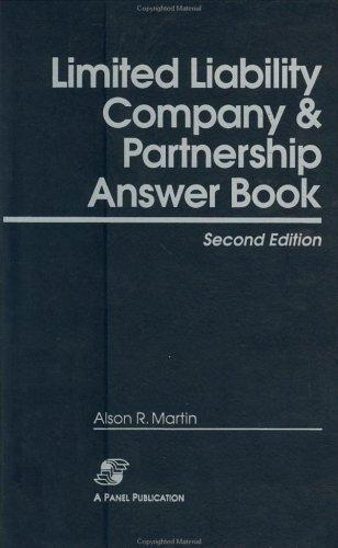 Download Limited liability company & partnership answer book