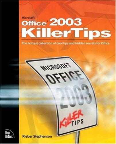 Microsoft Office 2003 killertips