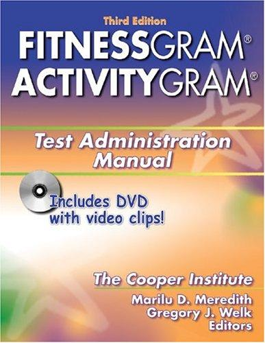 Download Fitnessgram/Activitygram Test Administration Manual