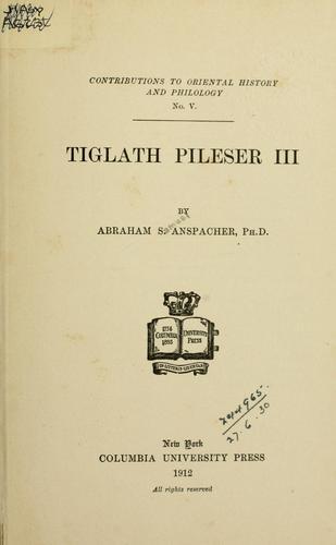 Tiglath Pileser III.