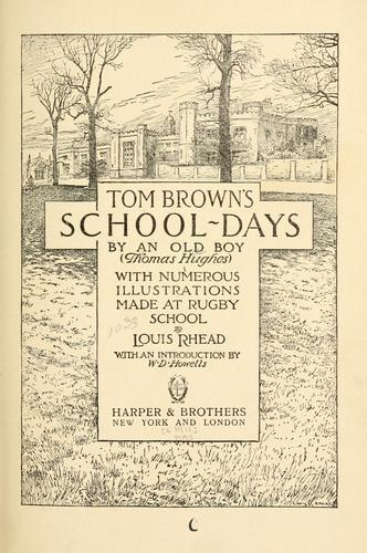 Tom Browns school-days