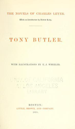 Tony Butler.
