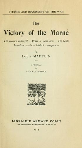 The victory of the Marne