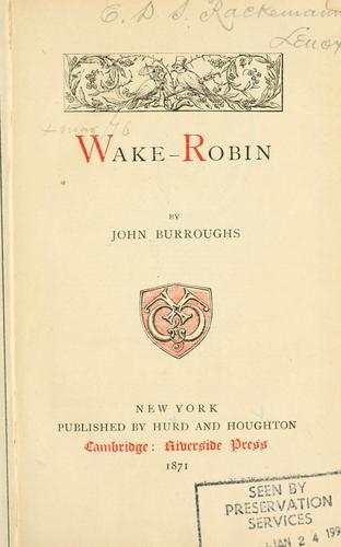 Wake-robin.