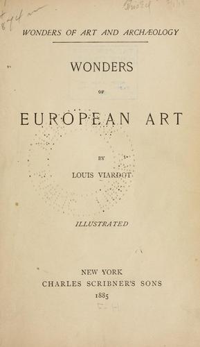Download Wonders of European art