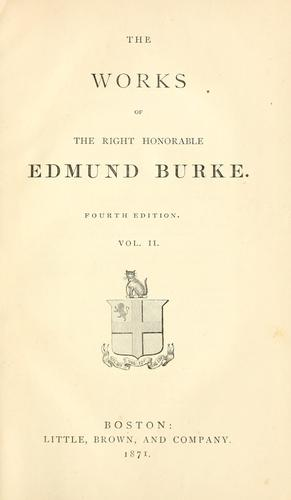 Download The works of the Right Honorable Edmund Burke.