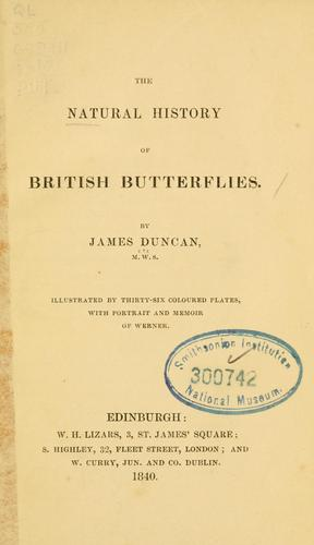 Download The natural history of British butterflies