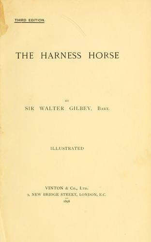 Download The harness horse