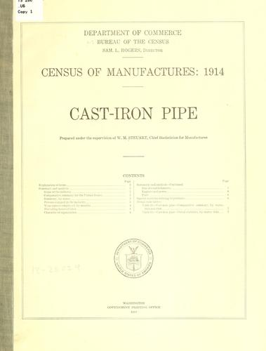 Census of manufactures: 1914.