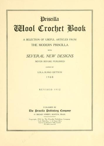 crochet book online