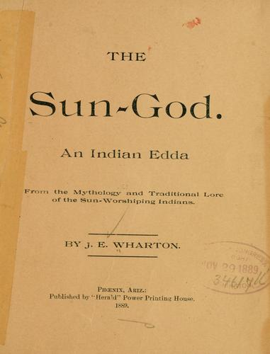 Download The sun-god.