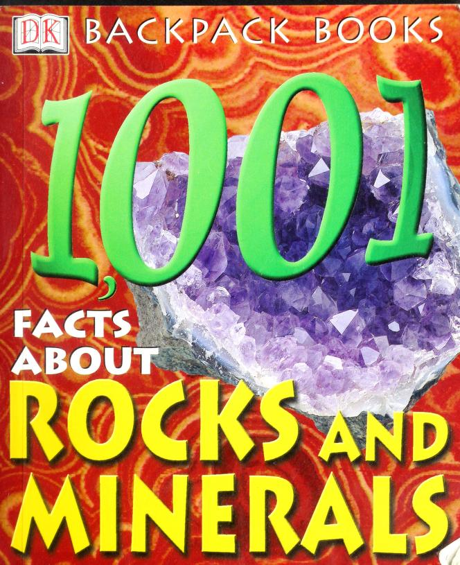 1001 facts about rocks and minerals by Sue Fuller