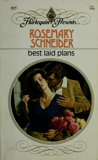 Cover of: Best Laid Plans | Rosemary Schneider