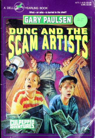Cover of: DUNC AND THE SCAM ARTISTS | Gary Paulsen