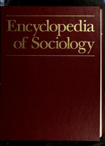 Encyclopedia of Sociology, Vol. 3 by Borgatta, Edgar F.