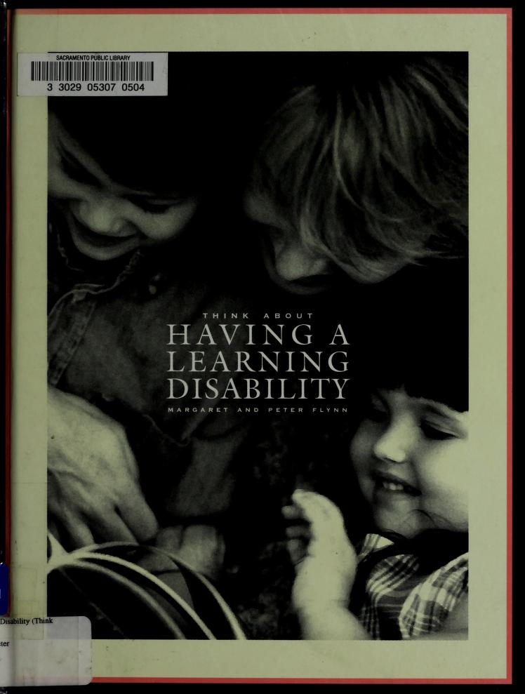 Having a learning disability by Margaret C. Flynn