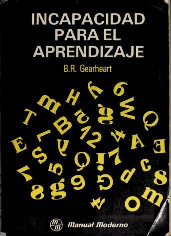 Cover of: Incapacidad para el aprendizaje | Bill R. Gearheart