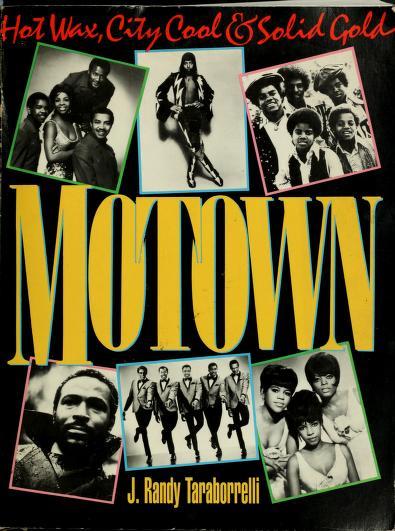 Motown by J. Randy Taraborrelli