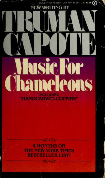 Cover of: Music for Chameleons | Truman Capote