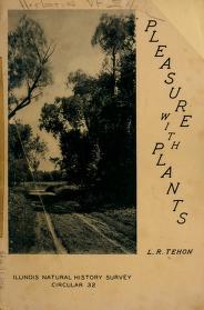 Cover of: Pleasure with plants | L. R. Tehon