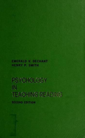 Cover of: Psychology in teaching reading | Dechant, Emerald V.