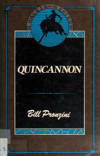 Quincannon by Bill Pronzini