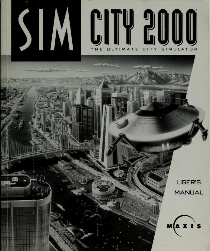 SimCity 2000 by Michael Bremer