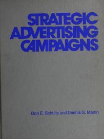 Cover of: Strategic advertising campaigns | Don E. Schultz