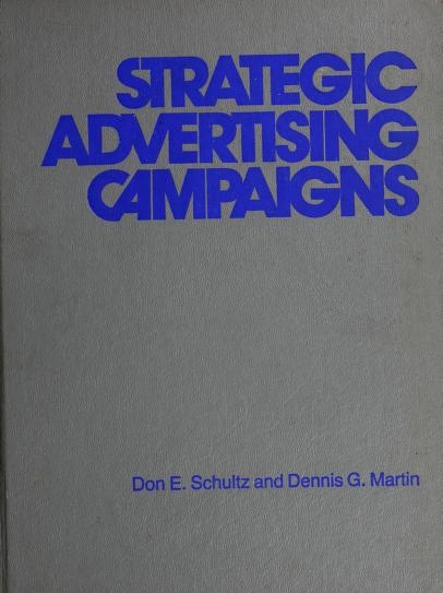 Strategic advertising campaigns by Don E. Schultz
