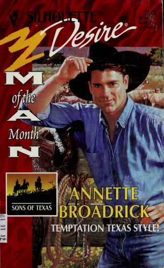 Cover of: Temptation Texas Style! (Man Of The Month, Sons Of Texas) | Annette Broadrick