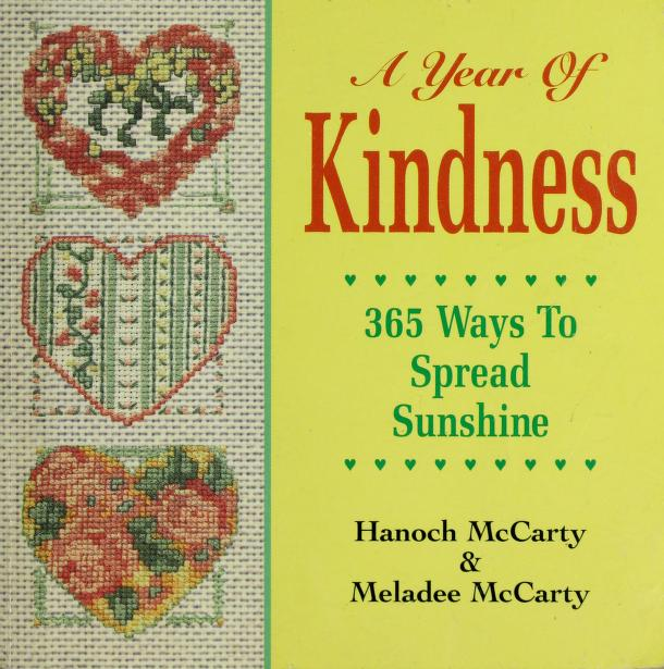 A Year of Kindness by Meladee McCarty, Hanoch McCarty