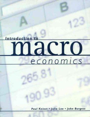 Introduction to Macroeconomics by Paul Kniest