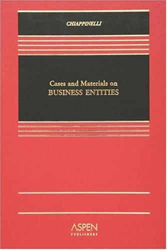 Business Entities by Eric Chiappinelli