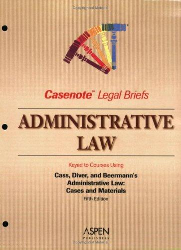Administrative Law by Casenotes