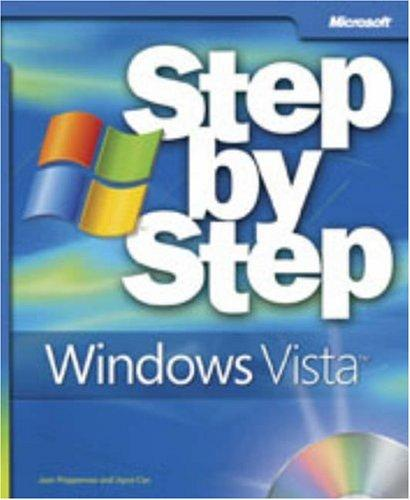 Microsoft  Windows Vista Step by Step by Joan Preppernau