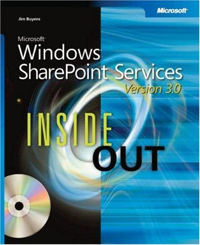 Microsoft  Windows  SharePoint  Services 3.0 Inside Out (Bpg Inside Out) by Errin O'Connor