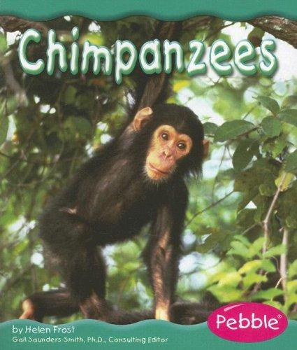 Chimpanzees (Rain Forest Animals) by Helen Frost