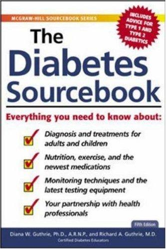 The Diabetes Sourcebook by Diana W. Guthrie