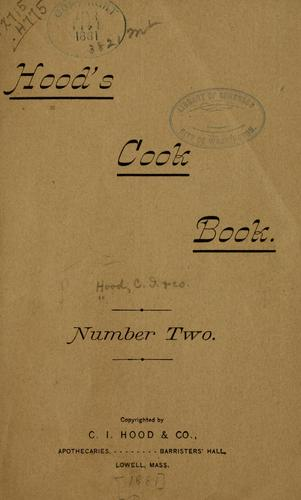 Hood's cook book number two.