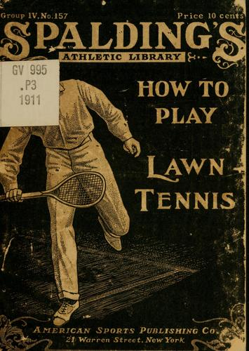 How to play lawn tennis by Jahail Permly Paret
